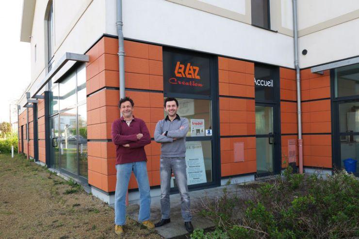 LRLAZ equipe La Rochelle - Sylvain Berthommé et David Rousselet
